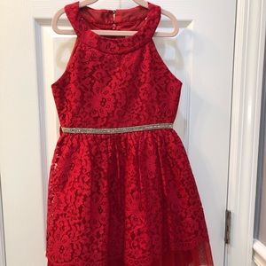RARE EDITION RED HOLIDAY DRESS
